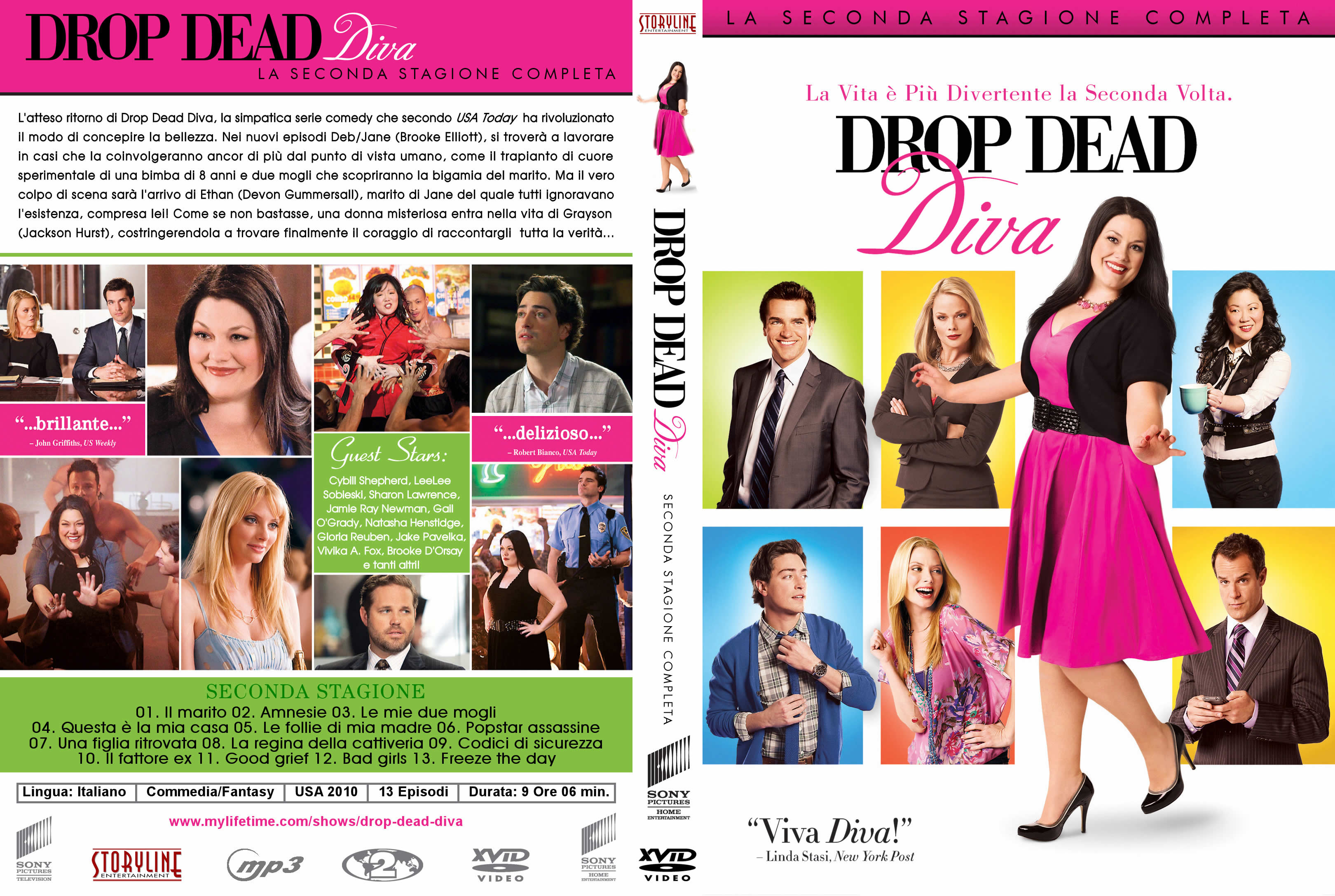 Drop dead diva dvd - Drop dead diva ita streaming ...
