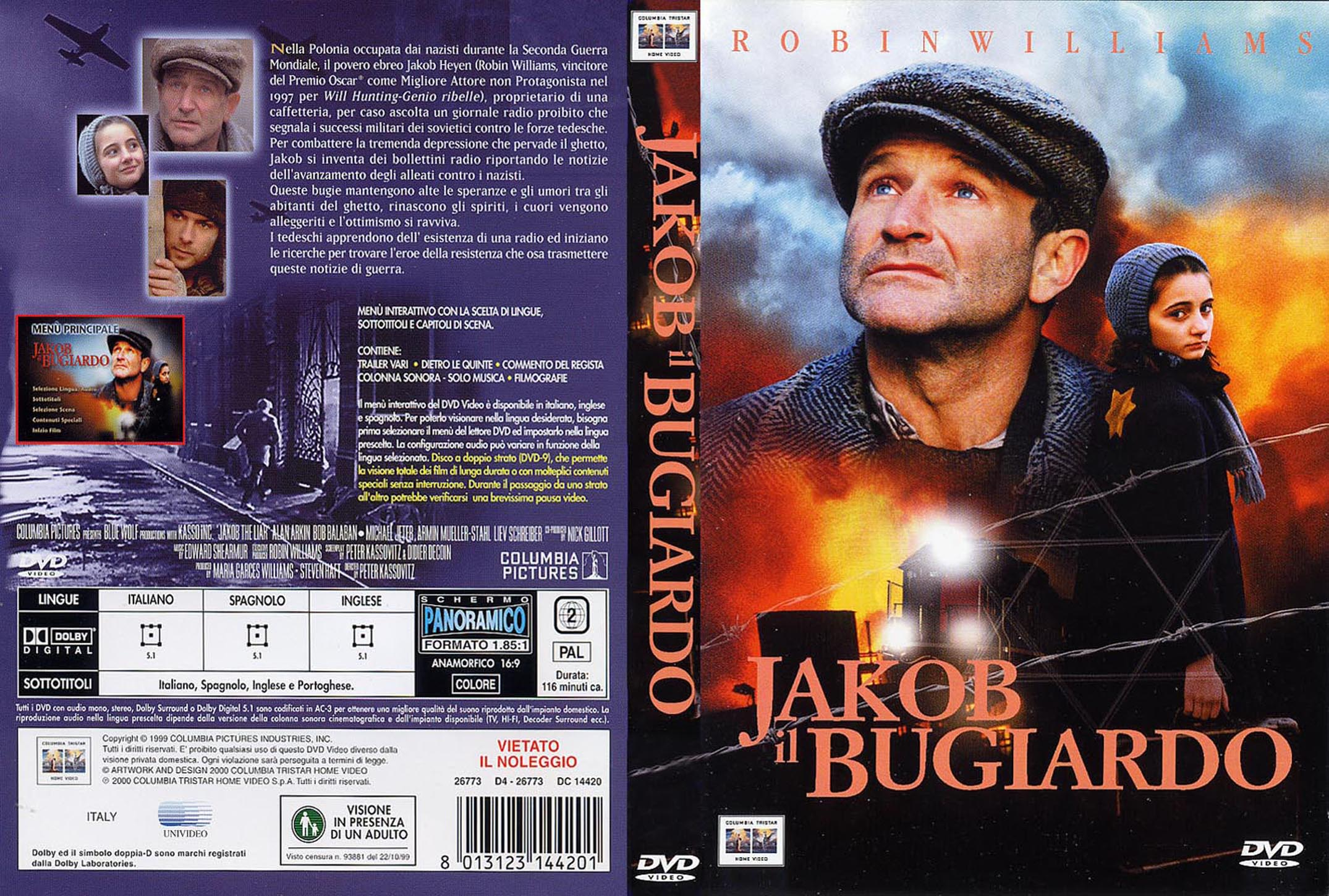Jakob the liar detailed movie overviews