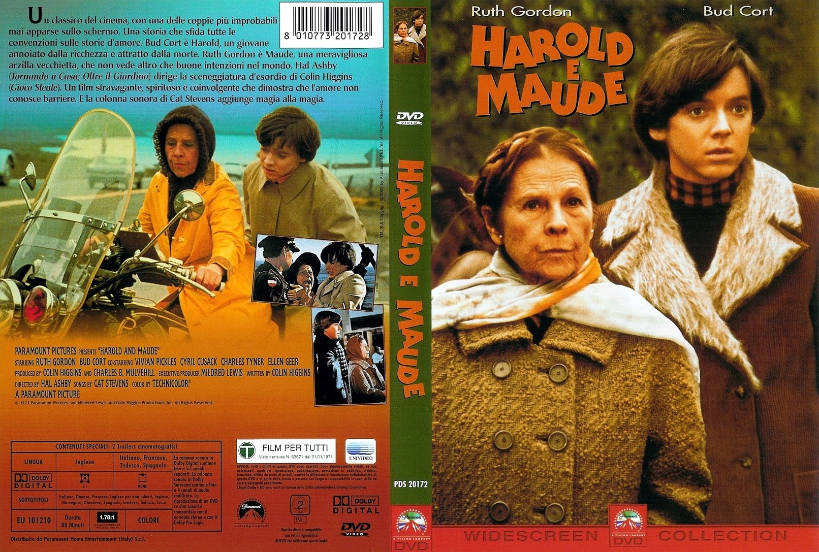 an analysis of freedom in harold and maude Harold and maude - film analysis  harold and maude is a romantic black comedy and it incorporates the elements of dark humor and existentialist drama the movie.
